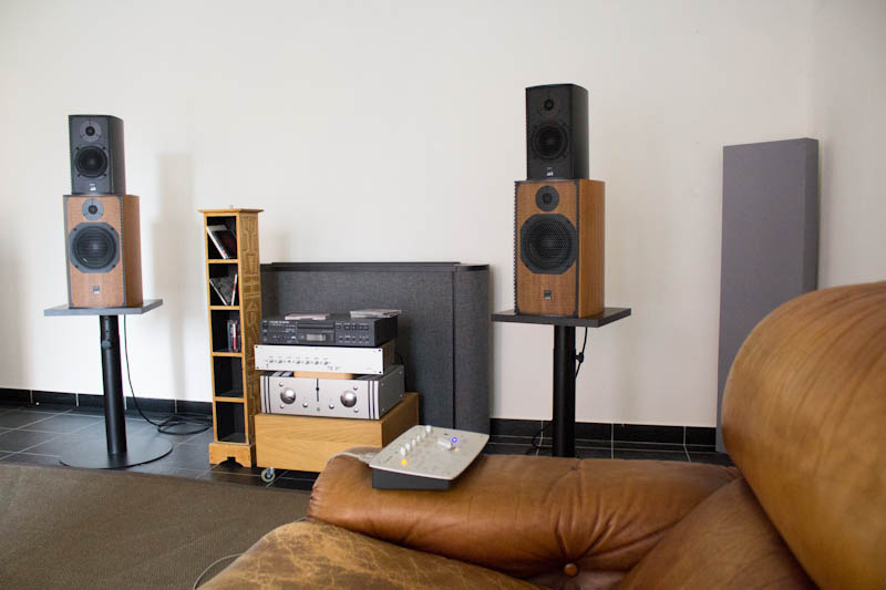 Milk Audio Store - Sala Demo ATC Loudspeakers