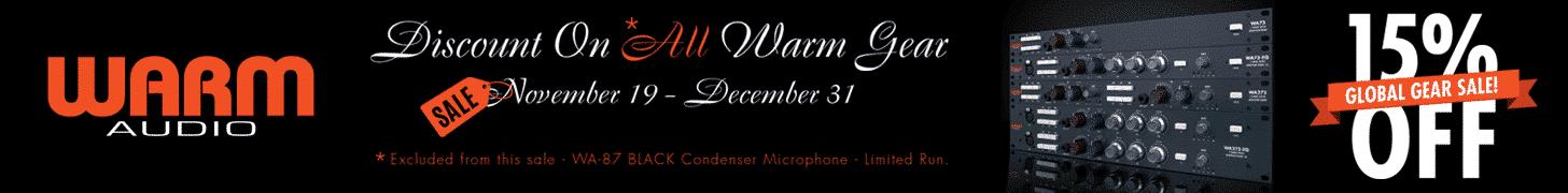 WARM Audio - Offerte Natale