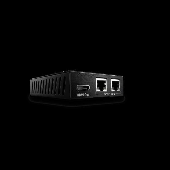 38118 1 555x555 Lindy 100m C6 HDBaseT HDMI & IR Extender Receiver