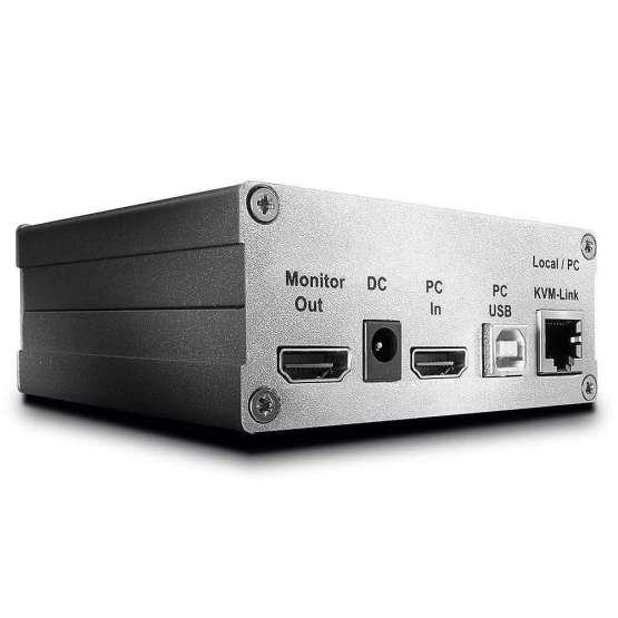 39200 1 555x555 Lindy 130m Cat.6 DVI D Single Link & USB 2.0 KVM Extender, Transmitter
