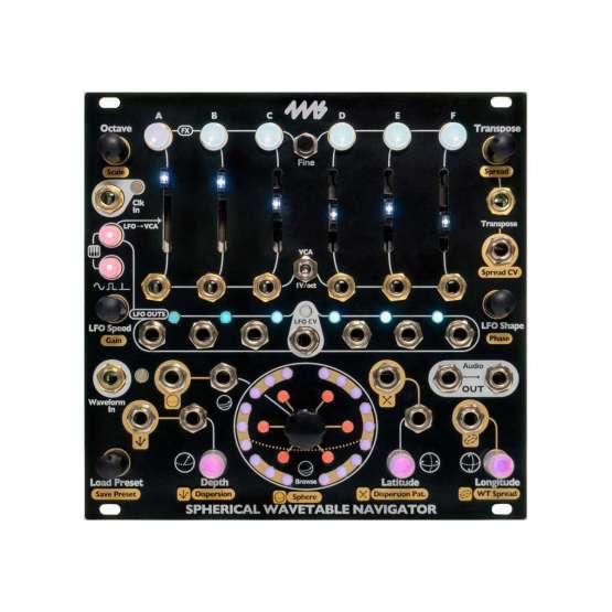 4ms Spherical Wavetable Navigator SWN 555x555 4ms Spherical Wavetable Navigator (SWN)