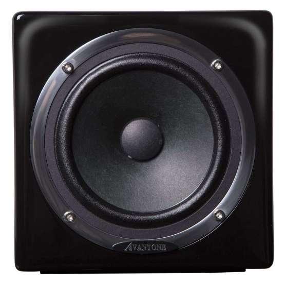 AVANTONE Mixcube Active Mono Black front view 555x555 AVANTONE Mixcube Active Mono Black