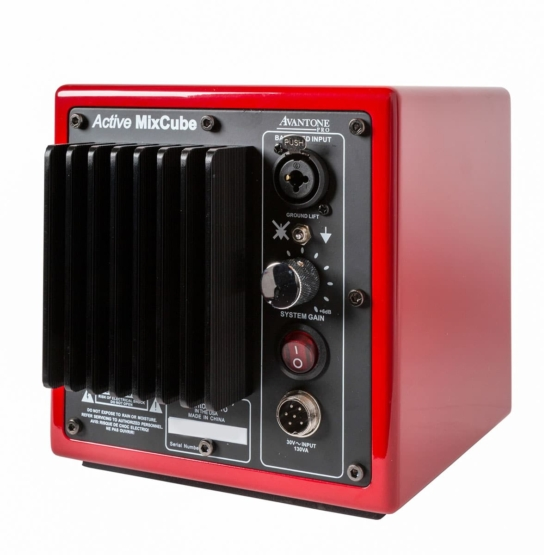 AVANTONE Mixcube Active Mono Red back angle view 555x555 AVANTONE Mixcube Active Mono Red