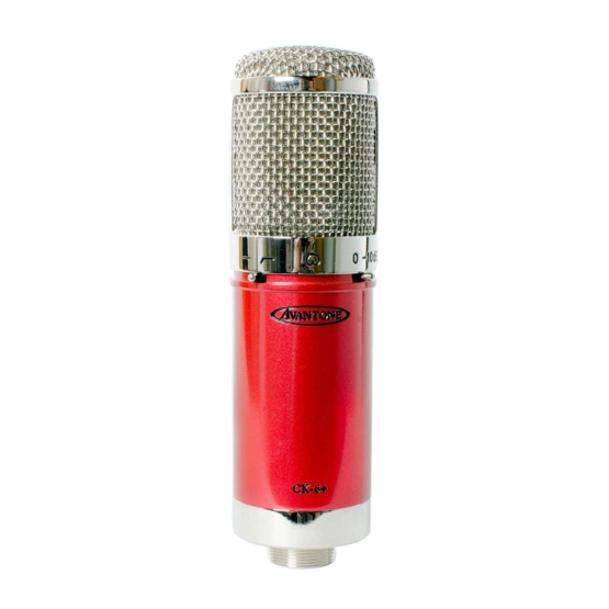 Avantone CK 6 Plus mic view 555x555 AVANTONE CK 6 PLUS
