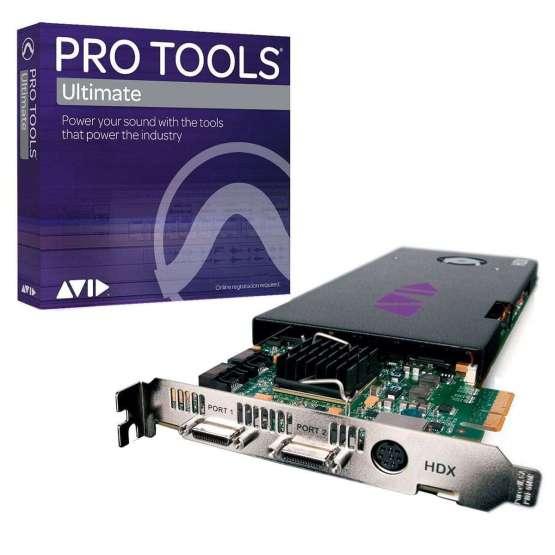 Avid HDx core pro tools ultimate 555x555 AVID HDx Core Pro Tools