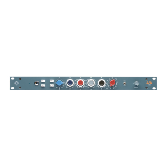 BAE 1032 rackmount 555x555 BAE 1032 rack