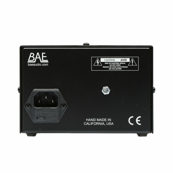 BAE 312 single rackmount PSU back 555x555 BAE 312A single Rackmount