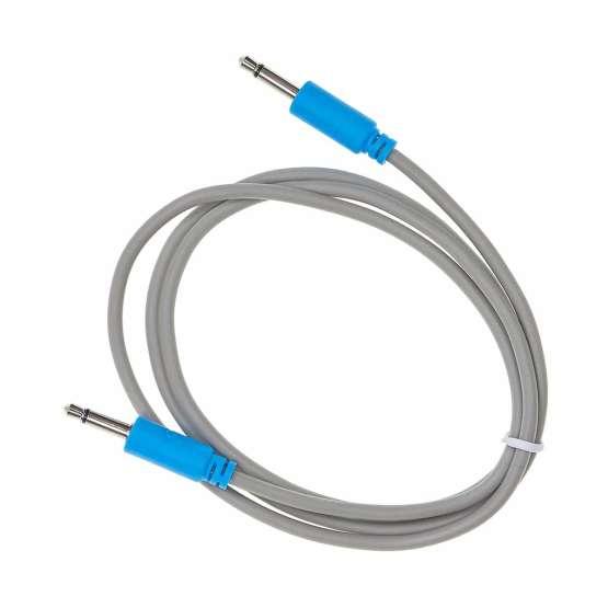 Black Market Modular Buchla tini cable blue 90cm 555x555 Black Market Modular Buchla 90cm Blue Tini Cable