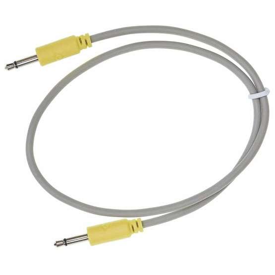 Black Market Modular Buchla tini cable yellow 45cm 555x555 Black Market Modular Buchla 45cm Yellow Tini Cable
