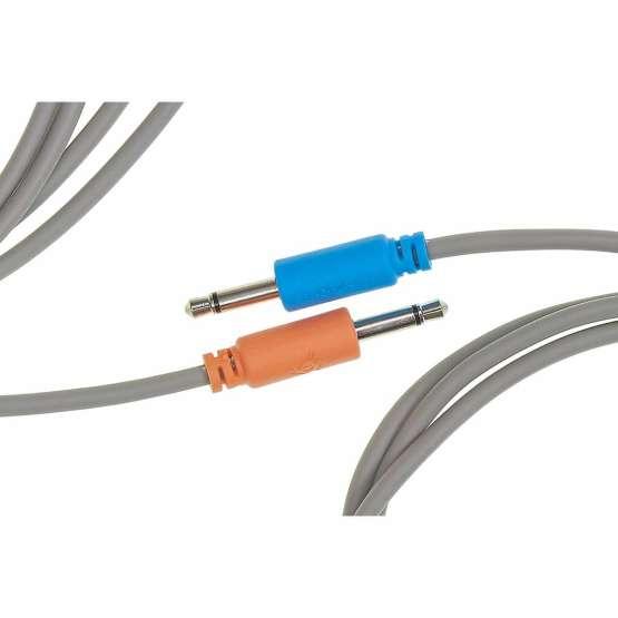 Black Market Modular Buchla tini cable yellow 45cm detail 555x555 Black Market Modular Buchla 45cm Yellow Tini Cable