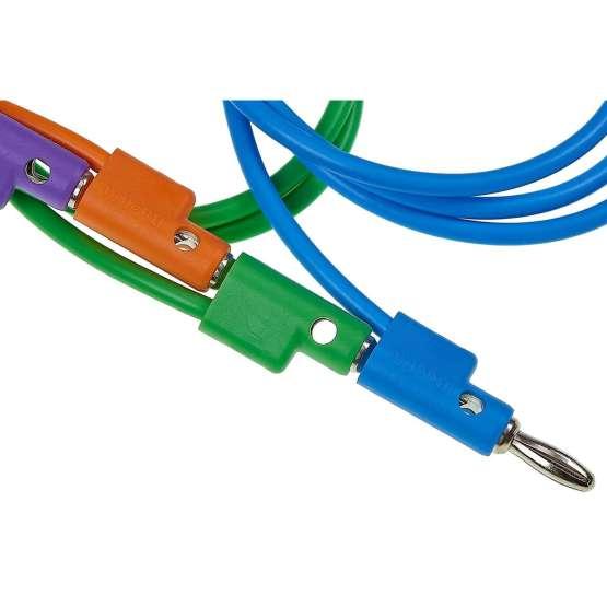 Buchla 125cm Purple Banana Cable plug detail multiple 555x555 Buchla 12.5cm Purple Banana Cable