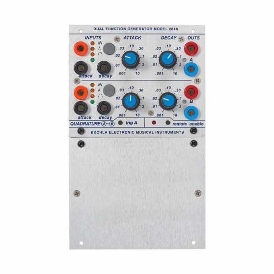 Buchla 281h front view 555x555 Buchla 281h Dual Function Generator