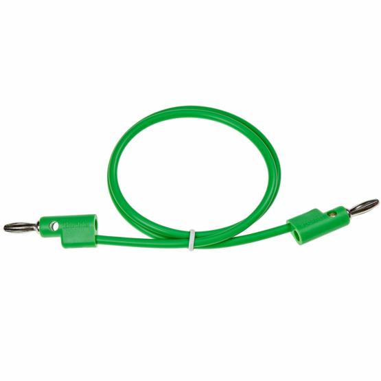 Buchla 50cm Green Banana Cable 555x555 Buchla 50cm Green Banana Cable