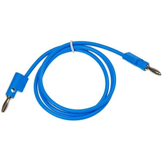 Buchla 75cm Blue Banana Cable detail 555x555 Buchla 75cm Banana Cable blue