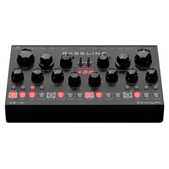 Erica Synths Bassline DB 01 top angle view 555x555 Erica Synths Bassline DB 01