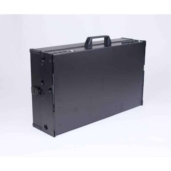 Intellijel Designs 7U x 104HP powered Black Stealth angle view 555x555 Intellijel Designs 7U x 104HP powered (Black/Stealth)