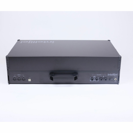 Intellijel Designs 7U x 104HP powered Black Stealth panel view 555x555 Intellijel Designs 7U x 104HP powered (Black/Stealth)