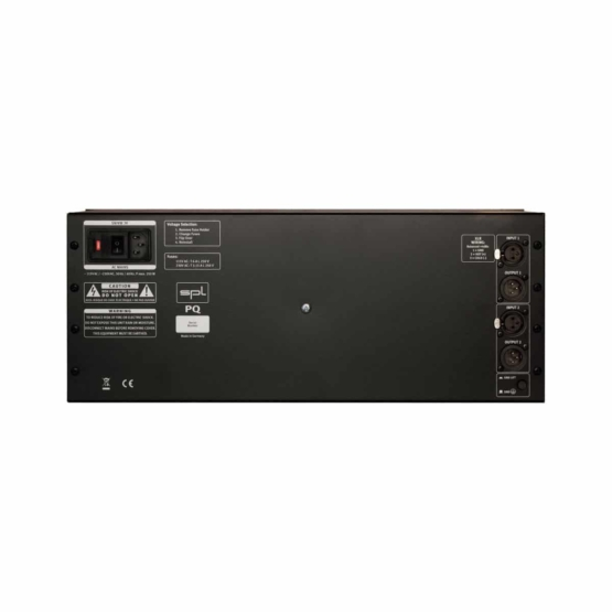 SPL PQ Black back panel 555x555 SPL PQ Mastering Equalizer (Black)