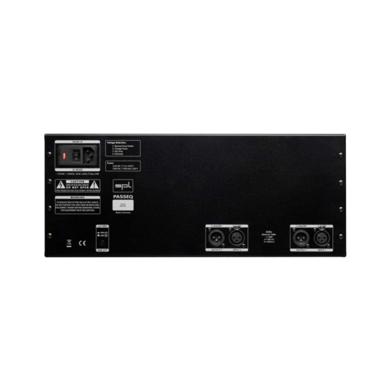 SPL PassEQ Black back panel 555x555 SPL PasseQ (Black)