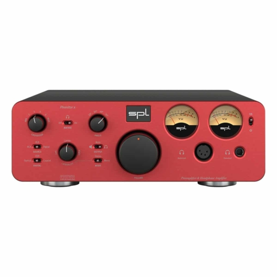SPL Phonitor x Red front view 555x555 SPL Phonitor x (Red)