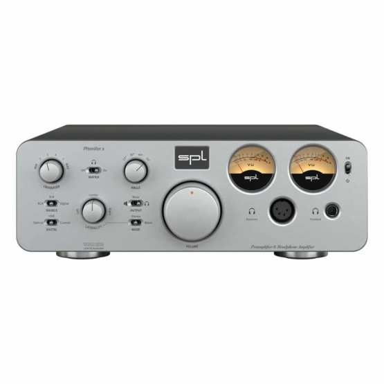 SPL Phonitor x Silver front view 555x555 SPL Phonitor x (Silver)