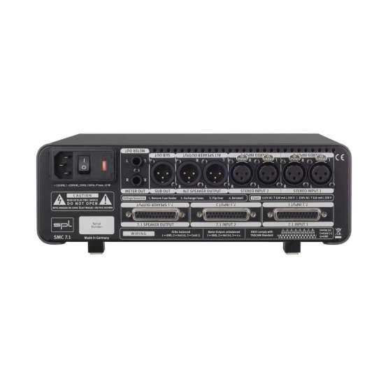 SPL SMC 7 1 Black back panel 555x555 SPL SMC 7.1 (Black)