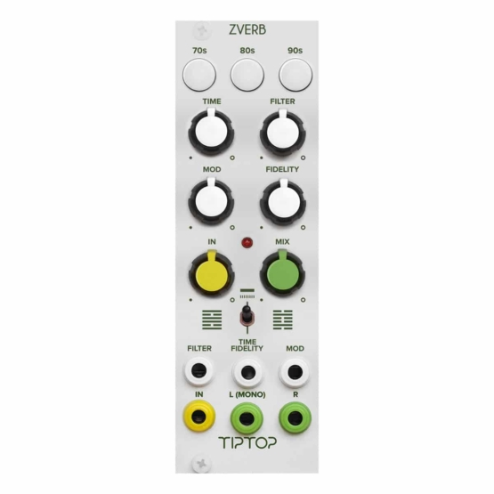 Tiptop Audio ZVERB white 555x555 Tiptop Audio ZVERB (White)