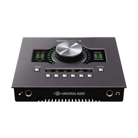 Universal Audio Apollo Twin X Quad front view 555x555 Universal Audio Apollo Twin X Quad