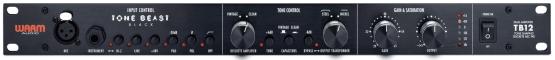 tb12 tone beast black f 555x60 Warm Audio TB12 Tone Beast Black