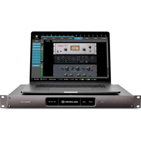 universal audio live rack in use 555x555 Universal Audio Live Rack Ultimate