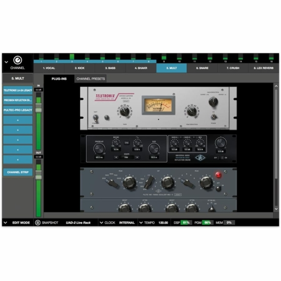 universal audio live rack plugin 555x555 Universal Audio Live Rack Ultimate