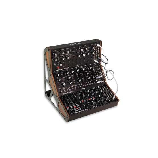 Moog Music Subharmonicon patched view 555x555 Moog Subharmonicon