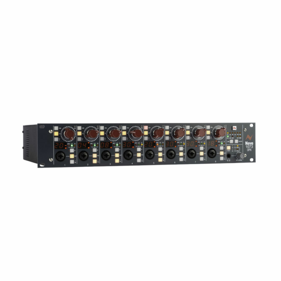 Neve 1073OPXDigital IO card Bundle angle left view 555x555 Neve 1073 OPX + Digital I/O card Bundle
