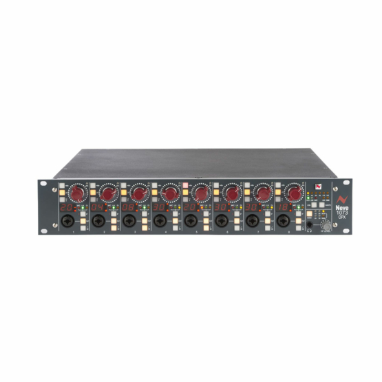 Neve 1073OPXDigital IO card Bundle front angle view 555x555 Neve 1073 OPX + Digital I/O card Bundle