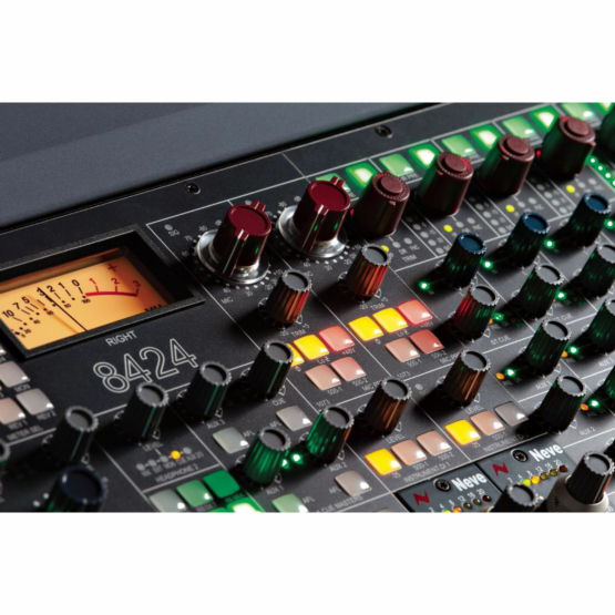 Ams Neve 8424 Console detail view 555x555 Neve 8424