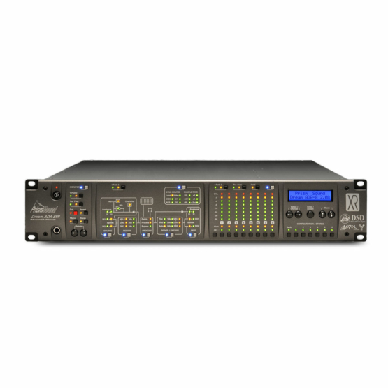 Prism Sound ADA8XR AD DA FW AES front view 555x555 Prism Sound ADA8XR AD/DA FW AES