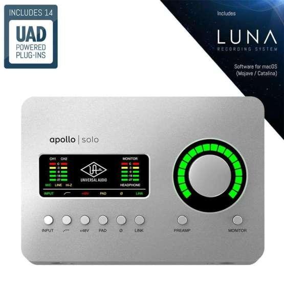 Universal Audio Apollo Solo soloplug ins 555x555 Universal Audio Apollo Solo