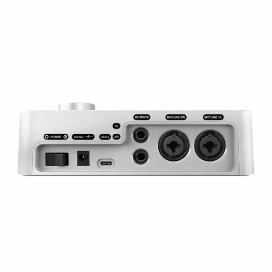 Universal Audio Apollo Solo USB side view 555x555 Universal Audio Apollo Solo USB