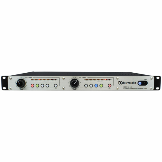 Buzz Audio MA 2.2B Unbalanced Output Silver 555x555 Buzz Audio MA 2.2B