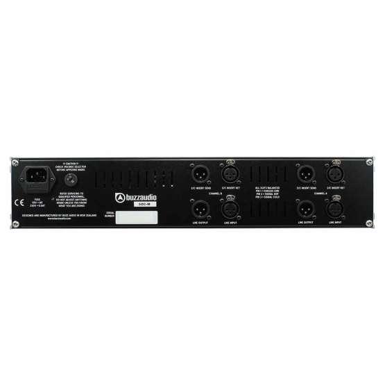 Buzz Audio SOC M Black rear panel 555x555 Buzz Audio SOC M Black