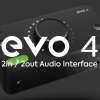 Introducing EVO 4 Audio Interface
