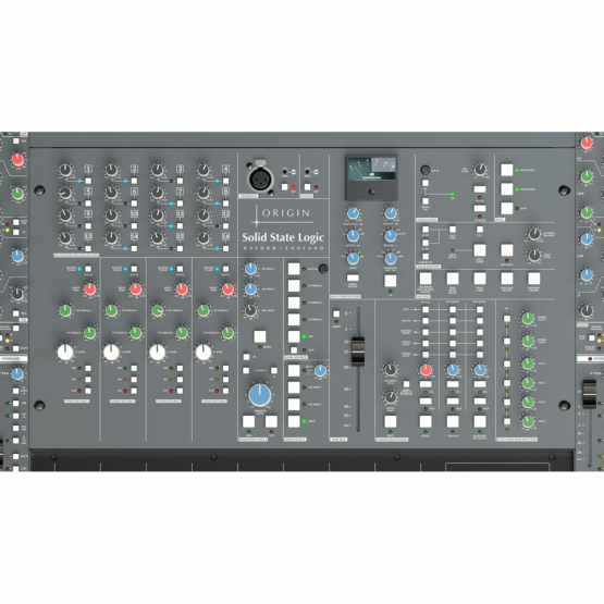 Solid State Logic Origin centre section overhead main 555x555 Solid State Logic Origin