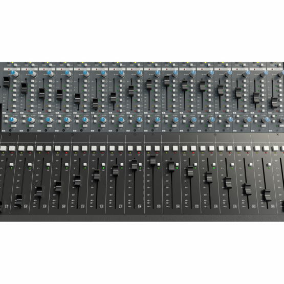 Solid State Logic Origin faders small large 555x555 Solid State Logic Origin