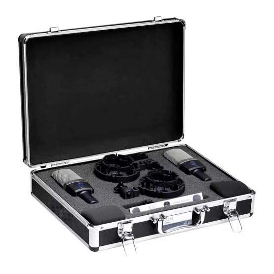 AKG C214 Stereo Set bag open view 555x555 AKG C214 Stereo Set