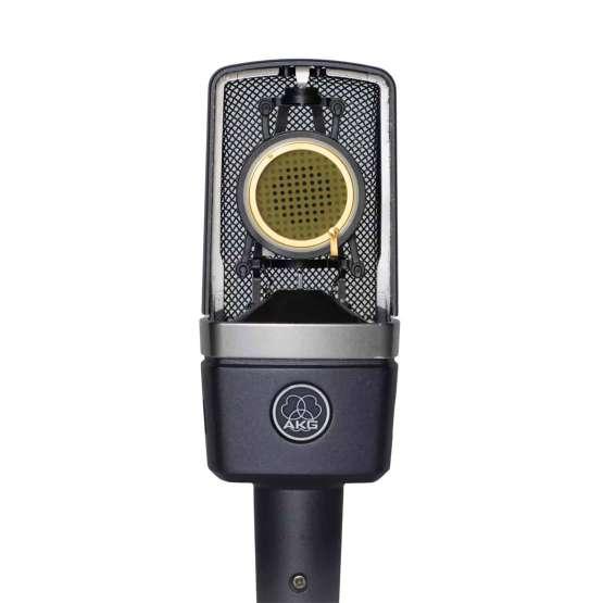AKG C214 Stereo Set front open view 555x555 AKG C214 Stereo Set
