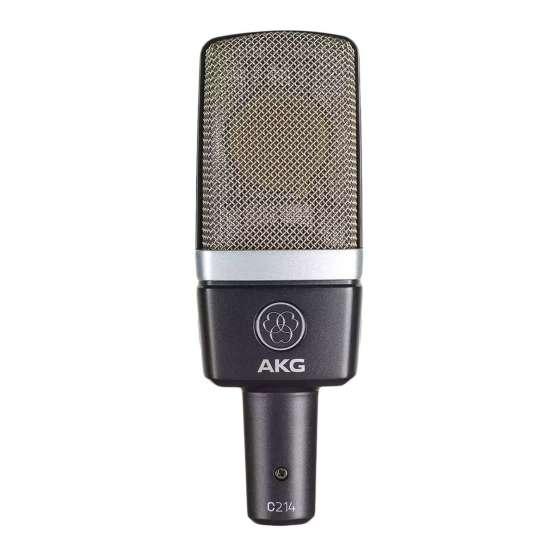 AKG C214 Stereo Set front view 555x555 AKG C214 Stereo Set