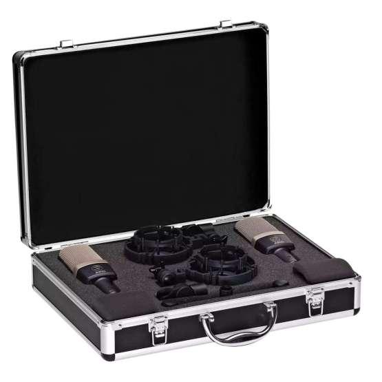 AKG C314 Stereo Set case angle 555x555 AKG C314 Stereo Set