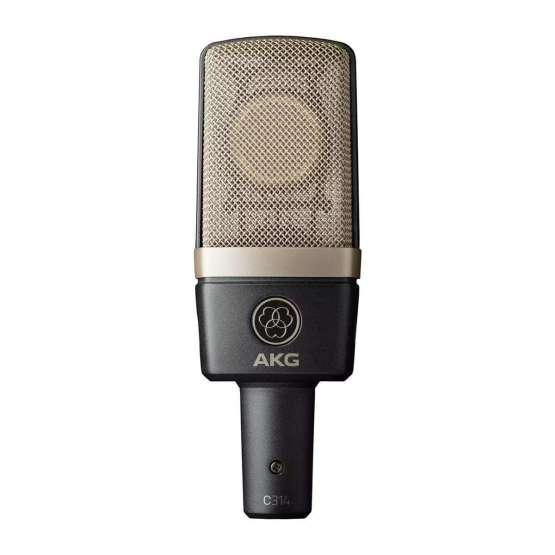 AKG C314 Stereo Set front mic 555x555 AKG C314 Stereo Set