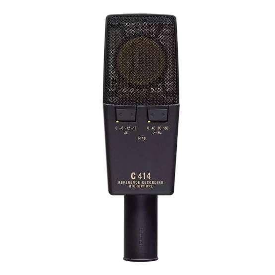 AKG C414 XLII Stereo Set back view 555x555 AKG C414 XLII Stereo Set