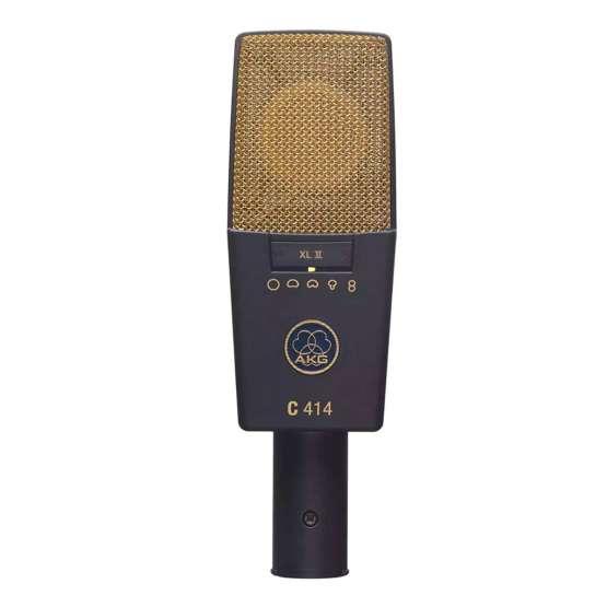 AKG C414 XLII Stereo Set front view 555x555 AKG C414 XLII Stereo Set